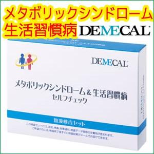 デメカル メタボリックシンドローム+生活習慣病検査