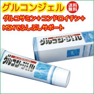 グルコンジェル(グルコサミン+コンドロイチン+MSM) 【送料無料】